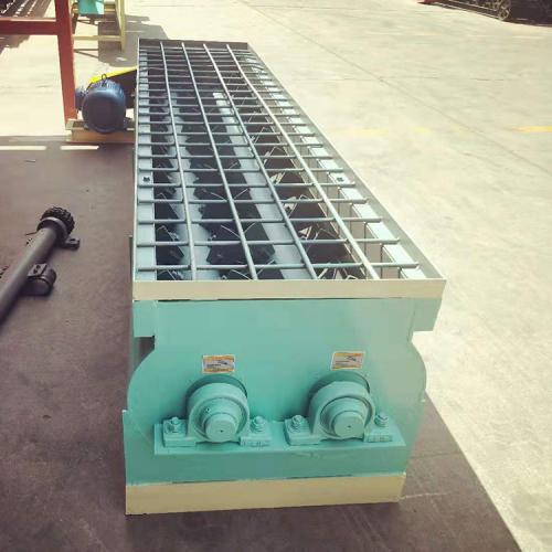 有机肥卧式双轴搅拌机 混合搅拌机 有机肥搅拌机 有机肥生产设