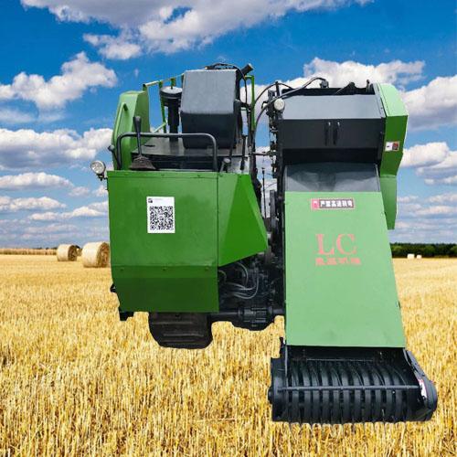小型履带自走式全自动打捆机 圆捆捆草机 捡拾打捆机农用机械