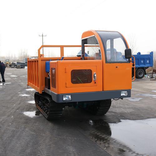 烂路行走履带运输车直销 全地形5吨履农用车