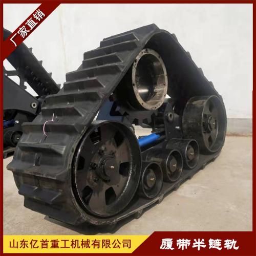 橡胶履带半链轨水田作业拖拉机平稳可靠